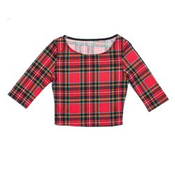 Wholesale Red Checked Top In USA, UK and Australia