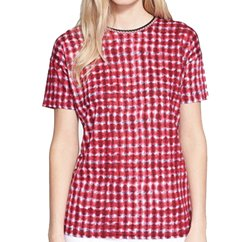 Wholesale Red Disc Printed Tee In USA, UK and Australia