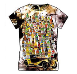 Winsome Vintage Car Custom Print T Shirt Suppliers