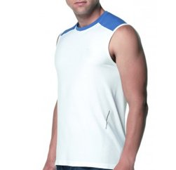 Wide Armed Sleeveless Spunk Sporty Tee Manufacturers